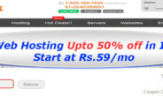 Bigrock Hosts Get WebHosting Coupons, Coupon – (50% off) discount: Promo codes