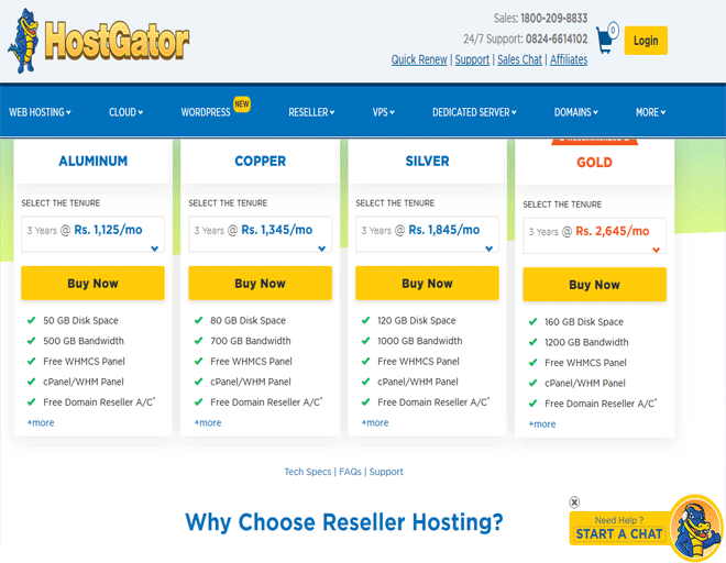 Best Reseller Hosting deals - Buy Reseller hosting plans