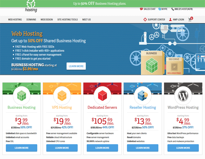 Europe top Web Hosting, Europe & United States Hosting providers | Inmotionhosting in California