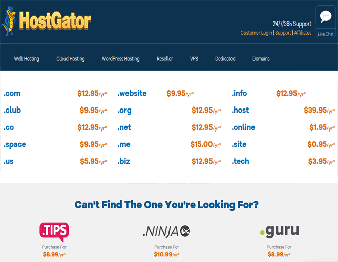 Best search Domain registration deals - Buy Domain name registration plans