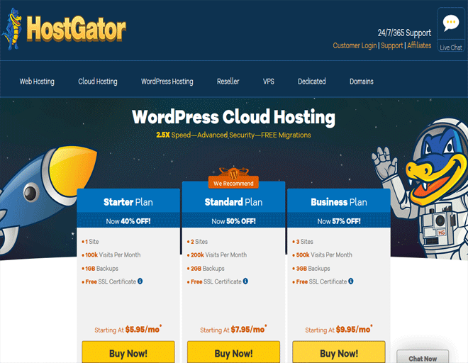 Best WordPress Hosting deals - Buy WordPress hosting plans