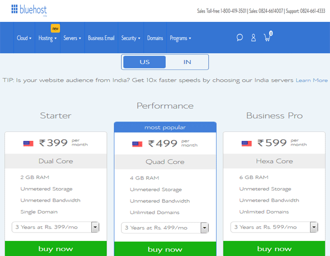 Bluehost coupons, discount codes, offers, deals on Bluehost Hosting Domain