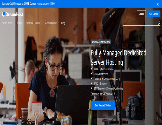 DreamHost coupons: DreamHost hosting offers on Dedicated servers Hosting coupons