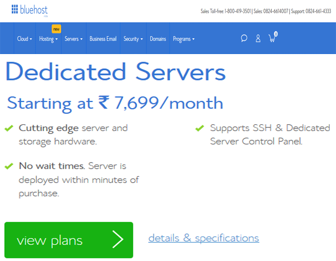 Best Dedicated hosting deal Services - Buy Dedicated Servers hosting plans