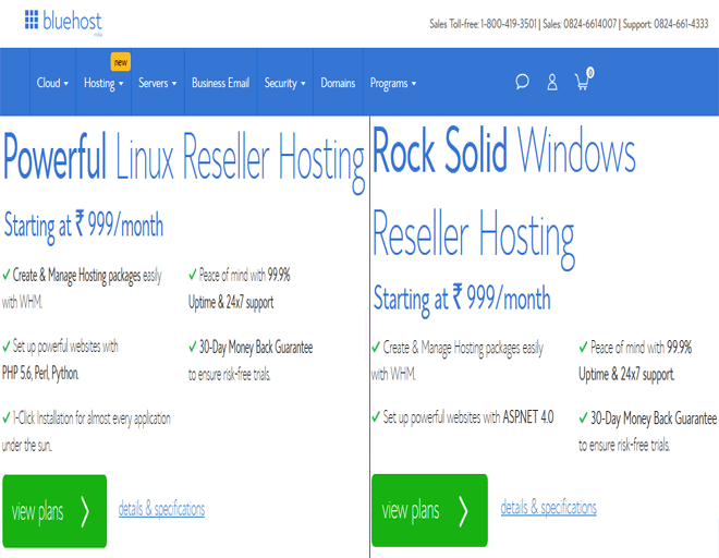 Best Reseller hosting deal Services - Buy Reseller hosting plans