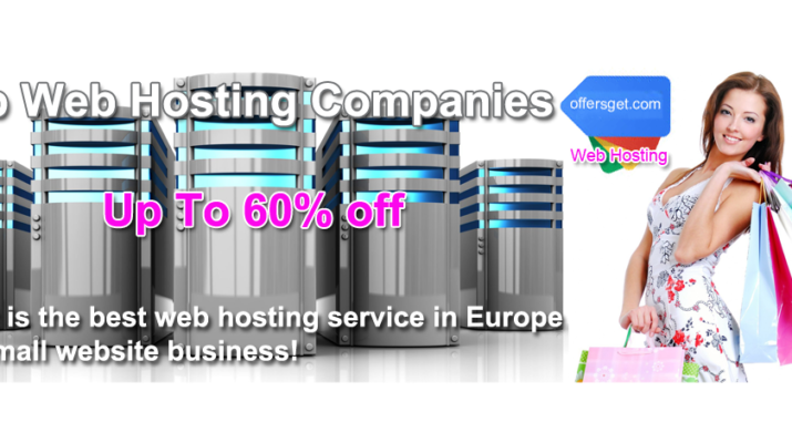 Top best web hosting service in Europe for small website business!