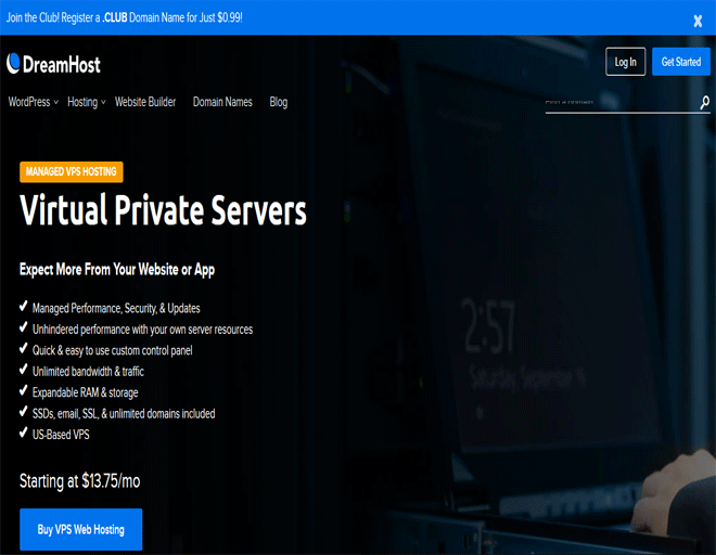 DreamHost coupons: DreamHost hosting offers on VPS Hosting coupons
