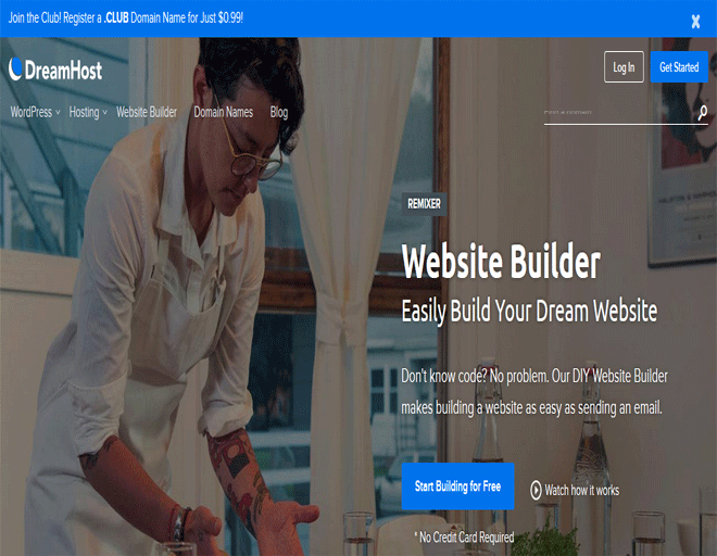DreamHost coupons: DreamHost hosting offers on website builder coupons