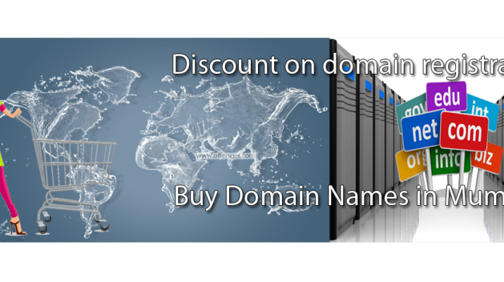 Discount on buy COM & NET domains in Mumbai