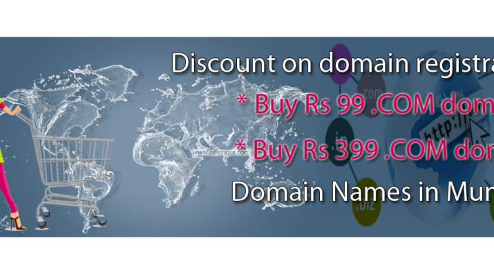 Discount on domain registration in Mumbai