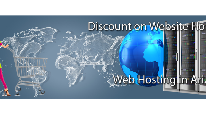 Discount on web hosting in Arizona