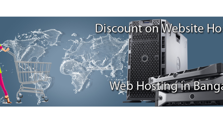 Discount on web hosting in Bangalore