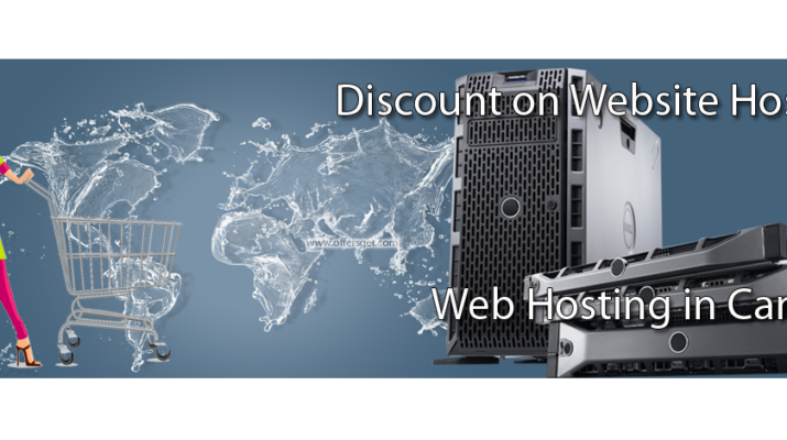Discount on web hosting in Canada