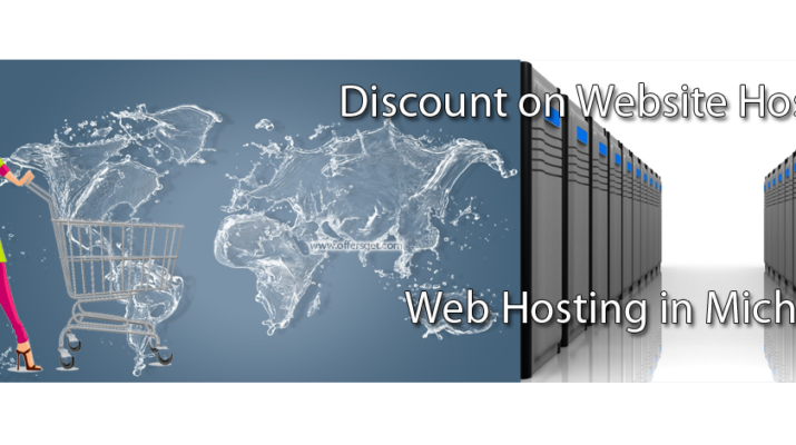 Discount on web hosting in Michigan