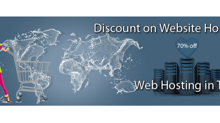 Discount on web hosting in Texas
