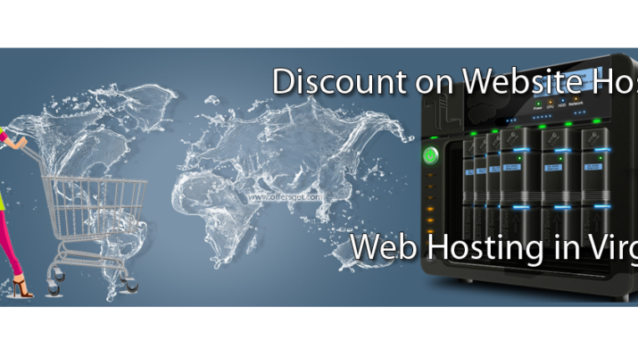 Discount on web hosting in Virginia