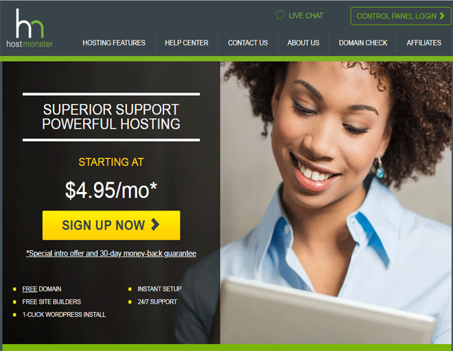 HostMonster Web Hosting company plan | HostMonster in Utah, USA